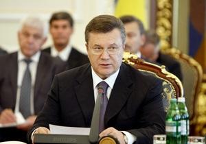Янукович намерен удерживать инфляцию на уровне 5-6%