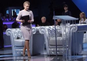 Тимошенко вызвала Януковича на дебаты