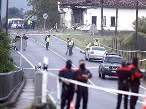 В Испании взорвался начиненный взрывчаткой автомобиль
