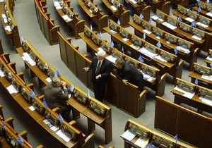Регламентный комитет Верховной Рады возглавил представитель коалиции