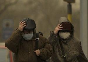Пылевая буря после Китая охватила Японию