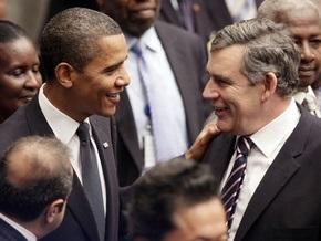 Браун опроверг сообщения о том, что Обама отказался с ним встретиться