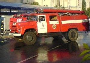 На рынке в Борисполе произошел крупный пожар