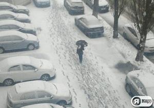 Я-Корреспондент: В Киев пришла зима. Фоторепортаж с Подола