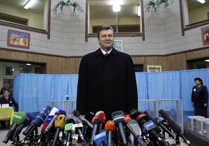 Обработаны 17,01% протоколов: Янукович лидирует со значительным отрывом