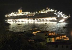Крушение Costa Concordia: спасенных украинцев разместили в римских гостиницах