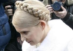 Тимошенко надеется, что СБУ не станет политическим орудием