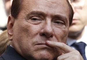 Берлускони приговорили к году тюремного заключения