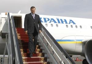 Янукович отправился в турне по странам Юго-Восточной Азии