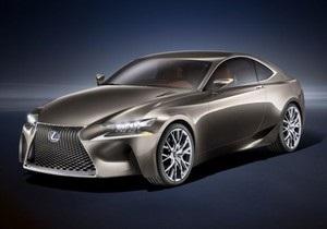 Lexus показала фотографии своего нового спортивного купе