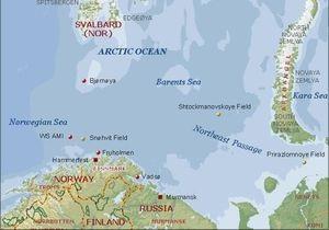 Норвегия призвала Россию поделить Бaрeнцeвo море