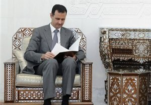 Асад сформировал новое правительство Сирии