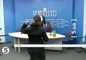 В регионала Колесниченко бросили фекалиями