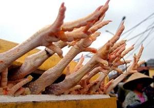 Украина запретила ввоз мяса птицы из Румынии из-за птичьего гриппа