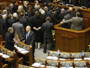 Депутаты едва не подрались за возможность задать вопрос Тимошенко