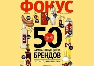Названы самые дорогие украинские бренды