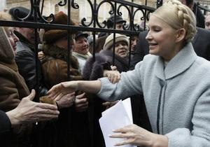 Тимошенко обещает рассказать правду об эмиссии денег в Украине