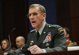 Командующий НАТО в Афганистане извинился за статью с критикой Белого дома