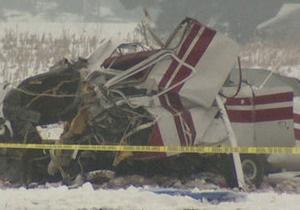 В США разбился легкомоторный самолет: два человека погибли