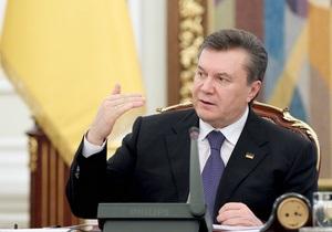 Янукович: Украина увеличит добычу угля