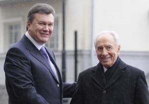 Янукович хочет посетить Израиль в конце года