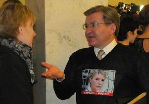 Немыря - Украина-ЕС - Тимошенко - Немыря обратился к послу ЕС по поводу нарушения прав Тимошенко