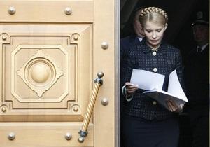 Тимошенко пришла на допрос в ГПУ: Это месть Януковича за проигрыш на Майдане