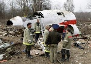Расследование причин крушения польского Ту-154: Генпрокуратура рассматривает четыре версии
