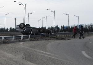 Замгубернатора Черкасской области попал в ДТП