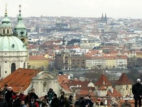 В центре Праги обрушилось здание