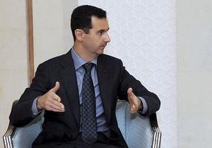 Асад заявил, что готов умереть за Сирию