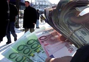 Евро рушится на межбанке
