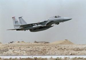 В Ливии потерпел крушение американский военный самолет