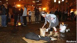 Полиция ликвидировала лагерь Захвати Уолл-стрит