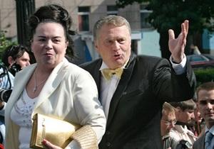 Жириновский: Я сам решаю, какую женщину называть женой