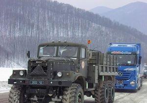 МЧС просит водителей воздержаться от поездок по Закарпатской области