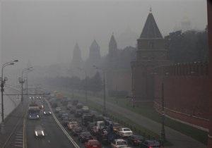 Московские аэропорты не смогли принять десятки рейсов из-за смога