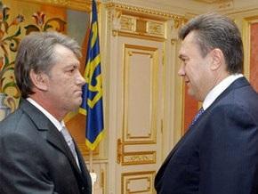 Янукович считает, что Ющенко никого не может запугать