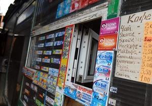 Запрет на продажу пива и сигарет: Раде предложили ограничить киоски