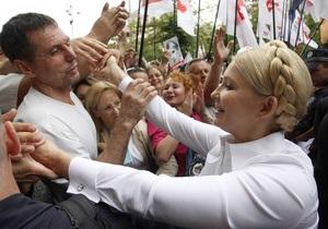НГ: Дело Тимошенко переведено в режим паузы