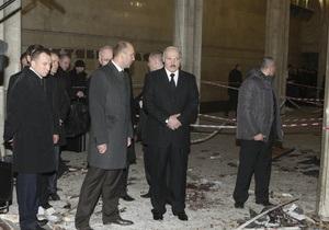 Взорванную в метро бомбу изготовили не в Минске