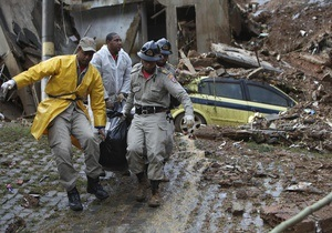 Число жертв наводнений в Рио-де-Жанейро возросло до 145