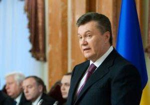 Янукович подписал закон о декриминализации экономических преступлений