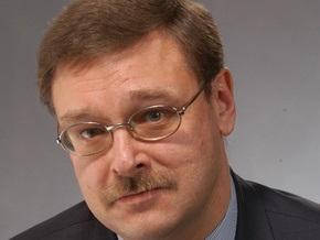 Кавказский конфликт обусловлен неэффективностью сотрудничества РФ-НАТО - Косачев