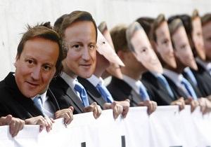 Тори выступили против премьера Британии