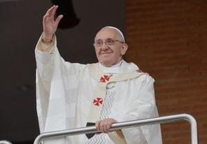 Папа Римский выступил против легализации наркотиков