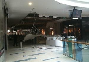 Руководство Sky Mall прокомментировало обрушение потолка