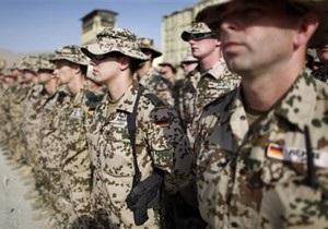 Меркель отказалась выводить немецкие войска из Афганистана