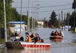 Варшава готовится к новому наводнению