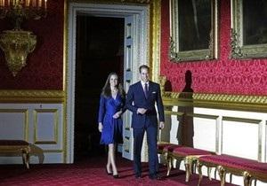 Британские букмекеры принимают ставки на детали свадьбы принца Уильяма